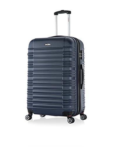 InUSA New York 28″ Large Hardside Luggage, Navy Blue