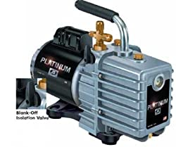 JB DV-85N-250 3 CFM Platinum Vacuum Pump, 115/230V, 50/60Hz Motor, with US Plug