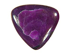 Genuine Sugilite 20 x 9mm Trillion Cabochon Lapidary 11ct Gemstone