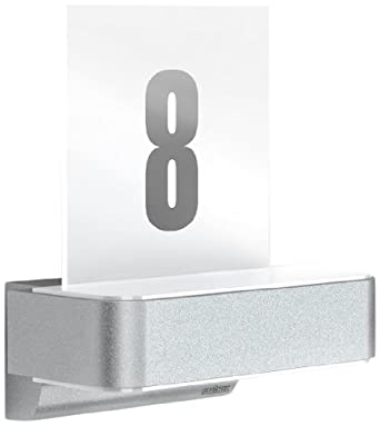 steinel 671327 sensor au enleuchte l 820 ihf led up downlight mit hausnummer bewegungsmelder. Black Bedroom Furniture Sets. Home Design Ideas
