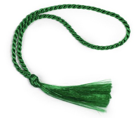 Cheapest Prices! 100 Floss Bookmark Tassels (Kelly Green)
