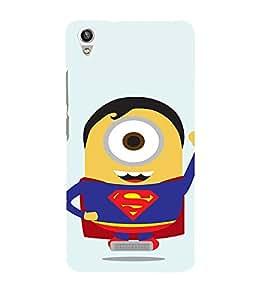 EPICCASE Superguy Minion Mobile Back Case Cover For Lava Pixel V1 (Designer Case)