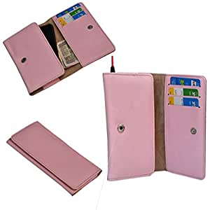 Ding Dong PU Leather Mobile Wallet Flip Pouch Case Cover For Huawei Ascend G700 available at Amazon for Rs.289