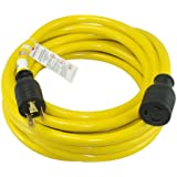 Conntek 20572 Generator Extension Cord 50-Foot 10/3 30 Amp 3 Prong Eextension Cord