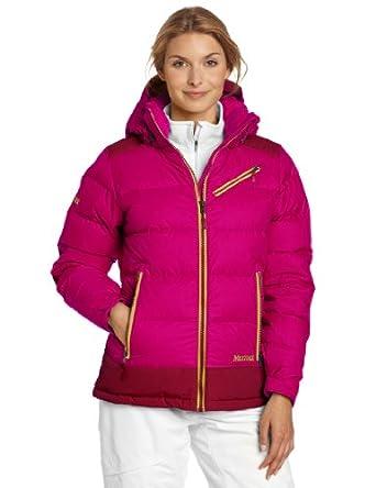 (狂跌)土拨鼠Marmot Sling Shot Jacket 女士MB防水650鹅绒保暖羽绒服 深玫瑰$219.38
