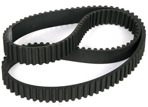 6155M15 Ametric® HTD Rubber Timing Belt, 5 mm Pitch, 615 mm Long, 15 mm Wide, 123 Teeth, 5 mm Over All Height, 2.06 mm Tooth Height,(Mfg Code 1-093)