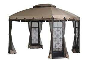41pucjz4fFL. SX300  2012 Replacement Canopy Set for Sears Bay Window Gazebo