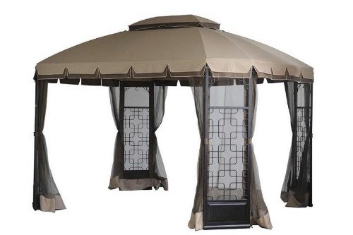 Sears terrace gazebo canopy replacement gazebos patio for Terrace gazebo