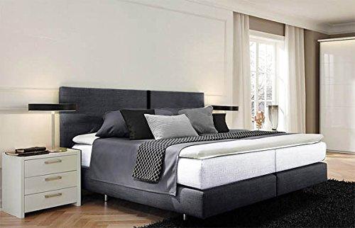 femira® Boxspringbett Polsterbett 180x200cm anthrazit aus Couture – Programm 563732 B-Ware (580) online bestellen