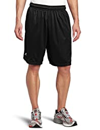 Russell Athletic Men\'s Mesh Pocket Short, Black, Large