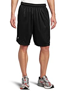 Russell Athletic Men's Mesh Pocket Short, Black, Large