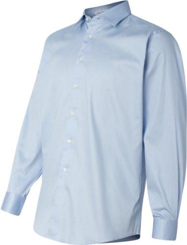 Calvin-Klein-Mens-Cotton-Stretch-Long-Sleeve-Solid-Dress-Shirt-Colors