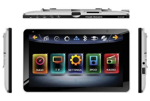 "Inteq Pd-931Nb Car Dvd Player - 9.3"" Touchscreen Lcd Display - 800 X 480 - 68 W Rms - Ipod/Iphone Compatible - In-Dash"
