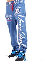 Herren Sporthose Jogginghose Trainingshose Fitness Hose Jogging Hose Tranings Marine Royal