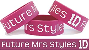 Future Mrs Styles One Direction Wristband Harry Fan by SayitBands.com