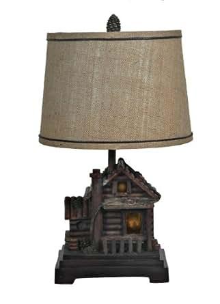 Pink Rhombus Night Light Hurricane Table Lamp   #F7950 Lamps Plus