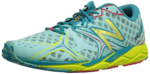 New Balance Women'S 1400V2  Running Shoe,Blue/Yellow,6.5 B Us