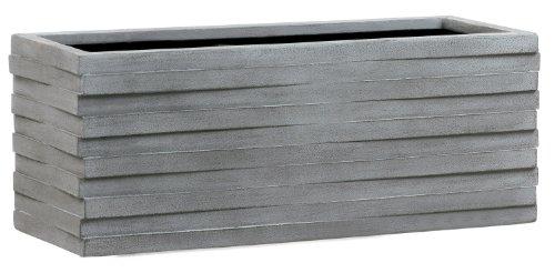 emsa 8518620477 blumenk bel pflanzk bel bert pfe pflanzgef e milton betongrau grau 77cm. Black Bedroom Furniture Sets. Home Design Ideas