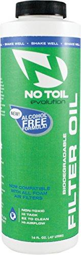 NO-TOIL EVOL FILTER OIL 16OZ