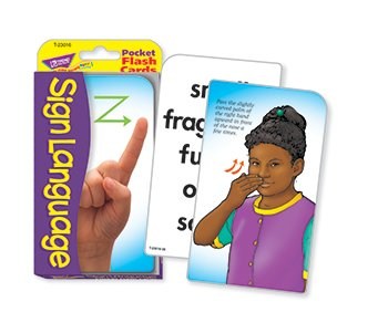 Sign Language Pocket Flash Cards - 1
