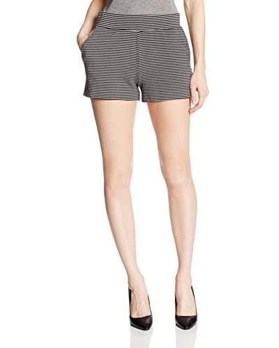 Three Dots Women's Shorts with Pleat Detail