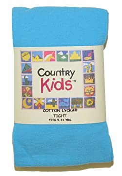 Country Kids Cotton Lycra Tights - Made in USA