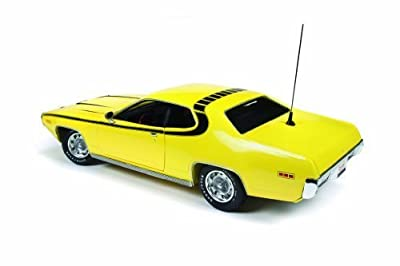 Toy Hobby 1971 Plymouth Satellite yellow yellow yellow Dukes Of Hazzard 1/18 by Autoworld AWSS105 model toy [parallel import goods]