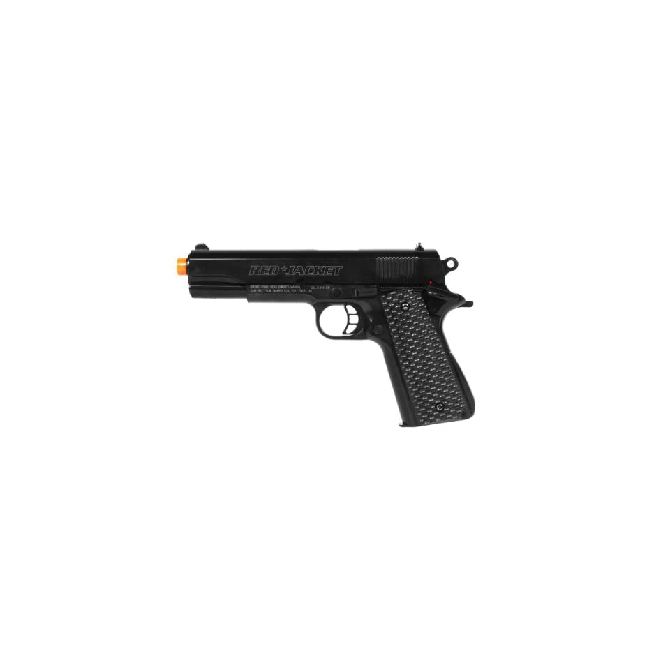 licensed red jacket 1911 spring airsoft pistol custom rjf fps 325(Airsoft Gun)