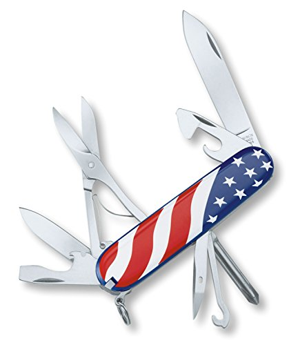 Victorinox Swiss Army Super Tinker Pocket Tool, Usa Flag