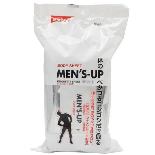 MEN'SーUPーエチケットシート シトラスフローラルの香り 30枚入:イーナ