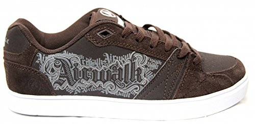 Airwalk Skateboard Schuhe Bos Jr Brown - Sneakers Shoes, shoe size:37