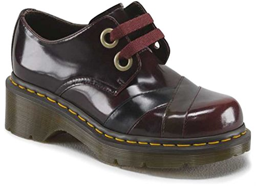 Dr. Martens Women'S Sylwia 2-Eye Oxford,Red,7 M Uk / 9 B(M) Us