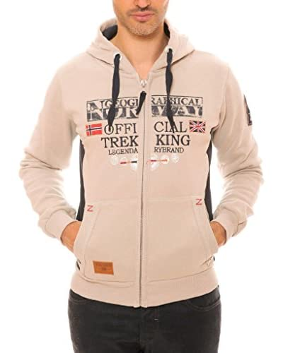 Geographical Norway Sweatjacke  ecru M