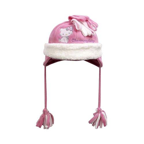Puttmann Baby - Mädchen Mützchen 72276, Gr. 49, Pink (848 Wild Orchid)