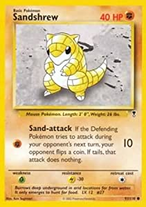 Sandshrew - 91/110 - Common - Legendary Collection