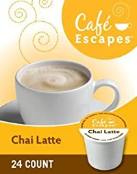 Green Mountain Café Escapes Chai Latte K-Cup 2pk 24 ct
