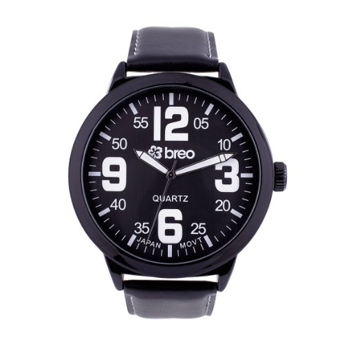 Breo B-TI-SD7 Unisex Salvador Black Watch