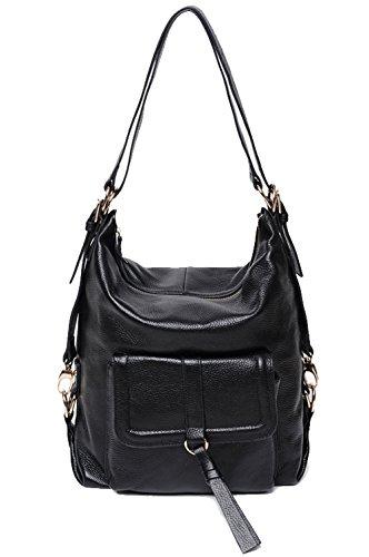 saierlong-womens-tote-single-shoulder-bag-handbag-black-cow-leather
