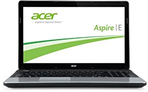 Acer Aspire E1-531-20204G50MNKS 39,6 cm (15,6 Zoll) Notebook (Intel Pentium 2020M, 2,4GHz, 4GB RAM, 500GB HDD, Intel HD, DVD, kein Betriebssystem) schwarz