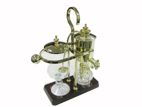 Royal Belgian Balancing Siphon Coffee Maker - Gold