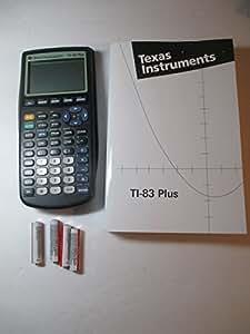 texas instruments ti 83 plus manual