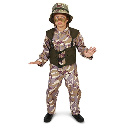 [U.S. Army Delta Force with Hat Child Costume S (4-6)] (Hats 4 U)