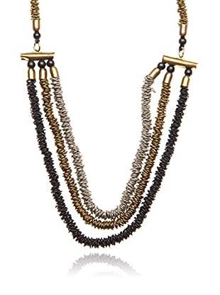 Cortefiel Collar  Dorado / Plateado Única