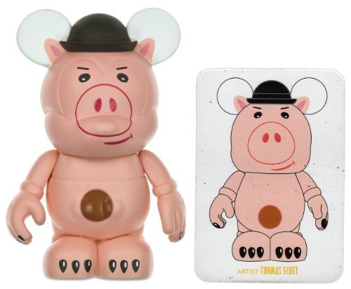 Buy Low Price Disney Evil Dr. Porkchop (chaser) by Thomas Scott – Disney Vinylmation 3″ Toy Story Series Designer Figure (Disney Theme Parks Exclusive) (B0048QZP0M)