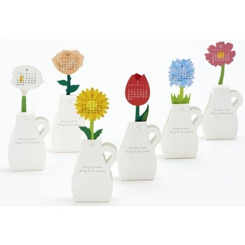 2014 Flowers 3D Desk Calendar (Good Morning Calendar compare prices)