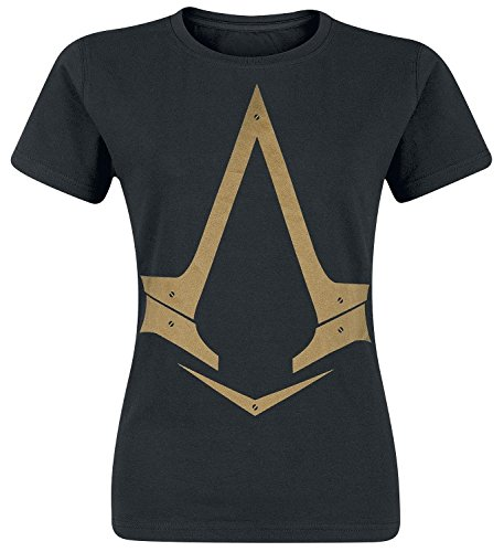 Assassin's Creed Syndicate - Golden Logo Maglia donna nero S