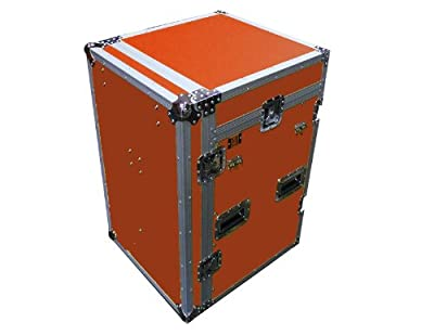 Mr. Dj CASE6000RD Mini Flight Chest Style DJ Case with Mixer / CD Case (RED)