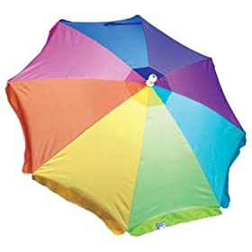 Sand Blaster Instant Beach Umbrella 6.5 FT -- 50 SPF