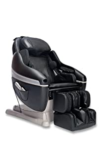 Inada Sogno Dreamwave Massage Chair, Black Leather