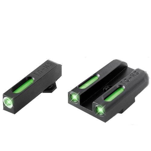 TRUGLO TG13GL1A Brite-Site TFX Handgun Sight for Glock Low Set, Black by Sportsman Supply Inc.